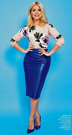 Holly Willoughby Legs, Holly Willoughby Outfits, Curvy Women Outfits, Plus Size Outfits, Clothes For Women, Tight Dresses, Nice Dresses, Cool Outfits, Fashion Outfits