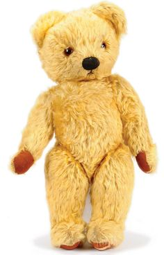 teddy bear 1950s - brother still has this but not in this nice of shape