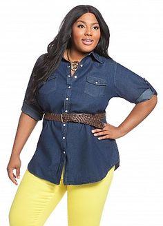 165b64b5c64 28 Best Ashley Stewart images | Plus size fashions, Ashley stewart ...