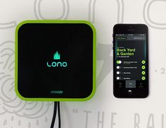 Lono Sprinkler Controller ~Every day we move closer toward automated everything. The Lono lets you control your home sprinkler system from your smartphone. Turn it off or on, anytime, anywhere. And it's not just easier, Lono reports an estimated 22% savings on water.