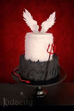 ... ideas cake design 21st birthday cakes angel cakes angel and devil cake