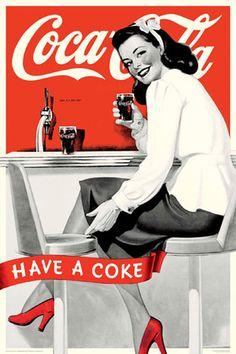 Coca-Cola-Have A Coke Poster bei AllPosters.de