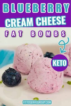 These blueberry cheesecake keto fat bombs are like frozen cheesecake bites but are just 0.4 carbs. They are a perfect treat after dinner or a quick snack to satisfy your sweet tooth anytime. Easy cream cheese fat bombs are for those of you who love blueberries and cheesecake but don't want all the sugar and carbs! Tangy, sweet, and creamy deliciousness in a bite-size is what you can look forward to when you make these blueberry fat bombs.#ketofatbombs #fatbombs Cheesecake Fat Bombs Keto, Frozen Cheesecake, Cheesecake Bites, Blueberry Cheesecake, Small Desserts, Low Carb Desserts, Low Carb Recipes, Cream Cheese Fat Bombs, Cream Cheese Recipes