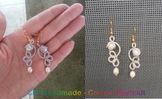 CM-Handmade: Small floral earrings