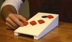 A fun game just got better! Introducing Tabletop Cornhole - @ cornhole.com