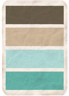 blue/brown Color scheme