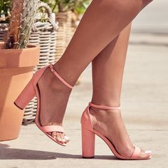 Simplicity at its best! The Elena Heel the next basic you need in your shoedrobe.