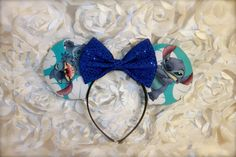 Stitch Mouse Ears  Minnie Mouse Ears Mickey by TheSouthernMouse