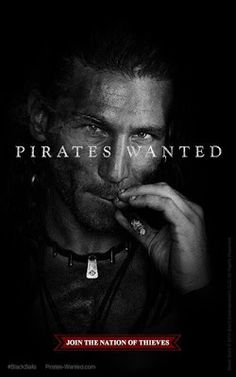 ... Posters for 'Black Sails' with Zach McGowan & Jessica Parker Kennedy