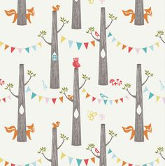 In The Trees ORGANIC crib sheet and blanket by birdshaveflowers