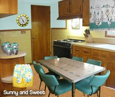 MID CENTURY DINETTES | Pam's retro decorating ideas for Angela's kitchen — Atomic ...