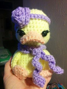 Crochet Little Duck by LilDuckCrochet on Etsy