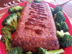High in fiber and protein, low in fat, easy and really yummy! Ive always thought meatloaf looks and smells so delicious and savory so, as a vegetarian, I decided to make a no-meat version! This is basically our favorite meatloaf recipe but with cooked mashed lentils instead of ground meat. The result is a very tasty dinner!