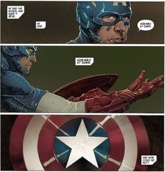 Marvel Comics Superheroes, Marvel Dc, Captain America Comic, Capt America, Captain American, Avengers 2012, Marvel Entertainment, Comic Panels, Deathstroke