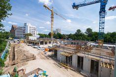 OASIS Berlin - Baufortschritt Juli 2017