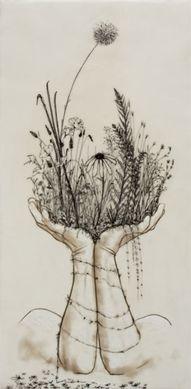 hands, create, bloom