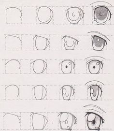 Image result for anime eyes art lesson