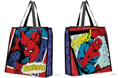 Spider-Man - Large Recycled Shopper Tote