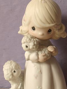 Vintage Precious Moments figurine The Lord is My by ShoponSherman
