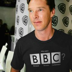 Because Benedict Cumberbatch