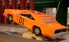 general lee lego  dukes of hazzard  Click to view full size image