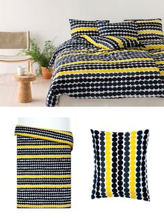 Marimekko - Räsymatto California Bedroom, Baby Boy Rooms, Marimekko, Nordic Style, Bedroom Styles, Sweet Home, Room Decor, Blanket, Retro