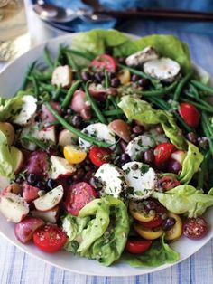 Recipes from The Nest - Nicoise Salad