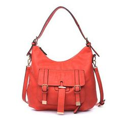 #Urban Expressions Bags 2014 New Arrivals at #BagMadness - Coral #Sundance on SALE $69 .. Reg. Price $105.
