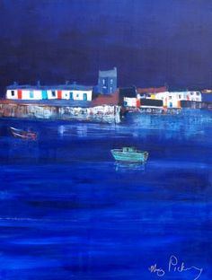 pic 5, Blue Harbour,Original Painting,size 30 x 40 inches,Cost €2.750.00. +P&P. payment by Visa or pay pal invoice. Irish Art, Original Paintings, Mary, The Originals, Blue, Travel, Ideas, Design, Viajes