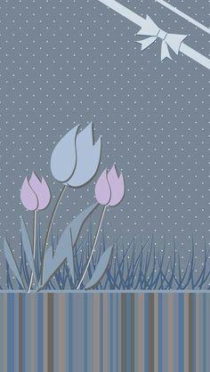 "Blue tulip created <a href=""/minemine/"" title=""Laura Mine"">@Laura Mine</a>"