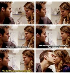 #supergirl2x08 #Kara and #Mon-el first kiss... so cute!