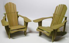 Recréation miniature: My own private Adirondack