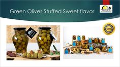 Spanish Food Prodespa: Sweet Green olives without preservatives