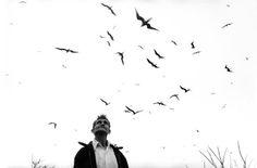 Photograph by Graciela Iturbide, The Bird Man (El señor de los pájaros, Nayarit, México, 1984.