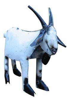 Billy Goat Recycled Yard Art
