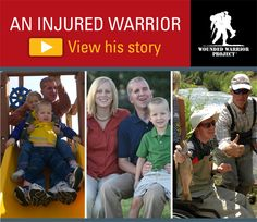 Memorial Day - As we prepare to celebrate all the brave men and women   who served our country, I invite you to meet one of the brave warriors   who defended our freedom, Corey Briest. View his story here: http://wwpinc.org/memorialdaystory