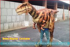 Animatronic VelociRaptor Costume