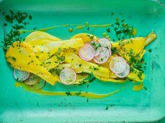 Appelsinkokt fennikel Vegetable Salad, Fresh Rolls, Salad Recipes, Side Dishes, Food And Drink, Vegetables, Ethnic Recipes, Salads, Contour