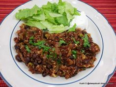 Spicy Quinoa With Black Beans