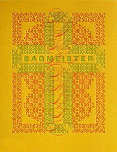 Sagmeister Invitation designed by James Grieshaber