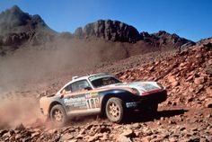 Paris-Dakar with a Porsche.  In it to win it even ;)