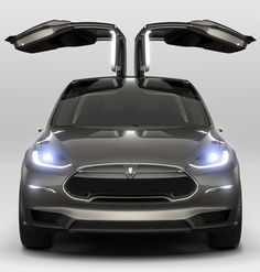 Tesla Model X - only silver or red, please