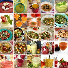 Cinco Quartos de Laranja: 25 sopas, saladas e sumos para os dias quentes de Verão