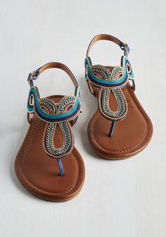 The Whole Stride Swirled Sandal