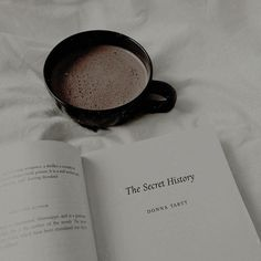 Coffee and books discovered by jbecreate on We Heart It
