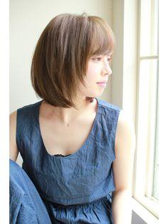 【2019年夏】【KAYAK】宮崎えりな 大人かわいい小顔ひし形ショートボブ/KAYAK by HONEY 渋谷店【カヤックバイハニー】のヘアスタイル|BIGLOBEヘアスタイル Shoulder Length Hair, Japanese Girl, Bob Hairstyles, Asian Woman, Salons, Hair Makeup, Hair Cuts, Hair Beauty, Lady