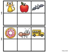 SECRET WORDS Short A Word Families Centers by Miss Giraffe... these are so cool for kindergarten or first grade!!