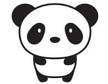 картинки панд для срисовки