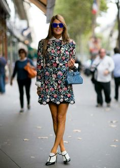 Best Street Style: Spring 2014 Spotted at: Paris Fashion Week Spring 2014