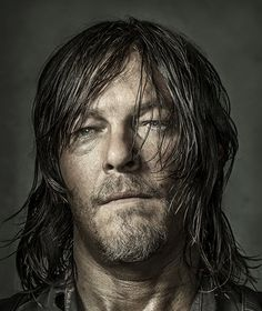 Norman Reedus as Daryl Dixon photographed by Dan Winters for Entertainment Weekly